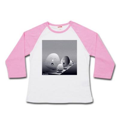 7分ラグランTシャツ waraugyoretu