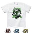 Tシャツライトカラー 象(緑)